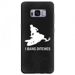 i bang ditches snowmobile Samsung Galaxy S8 Plus Case | Artistshot