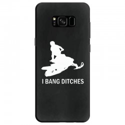 i bang ditches snowmobile Samsung Galaxy S8 Case | Artistshot