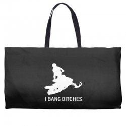 i bang ditches snowmobile Weekender Totes | Artistshot