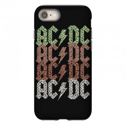 acdc leopard iPhone 8 Case | Artistshot