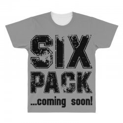 six pack coming soon All Over Men's T-shirt | Artistshot