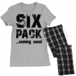 six pack coming soon Women's Pajamas Set | Artistshot