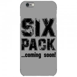 six pack coming soon iPhone 6/6s Case | Artistshot