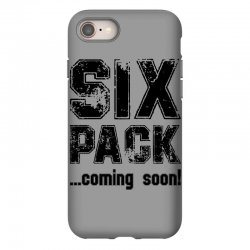 six pack coming soon iPhone 8 Case | Artistshot
