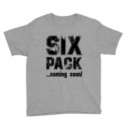 six pack coming soon Youth Tee | Artistshot