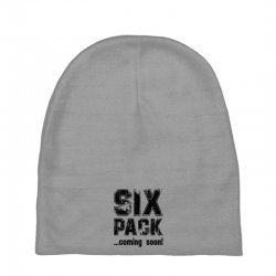 six pack coming soon Baby Beanies | Artistshot