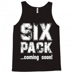 six pack coming soon for dark Tank Top | Artistshot
