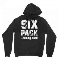 six pack coming soon for dark Unisex Hoodie | Artistshot