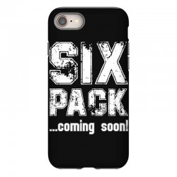six pack coming soon for dark iPhone 8 Case | Artistshot