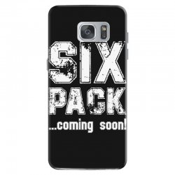 six pack coming soon for dark Samsung Galaxy S7 Case | Artistshot