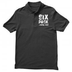 six pack coming soon for dark Polo Shirt | Artistshot