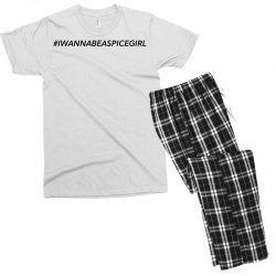 i wanna be a spice girl Men's T-shirt Pajama Set | Artistshot