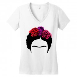 frida kahlo Women's V-Neck T-Shirt | Artistshot