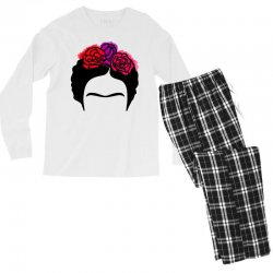 frida kahlo Men's Long Sleeve Pajama Set | Artistshot