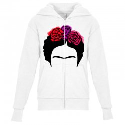 frida kahlo Youth Zipper Hoodie | Artistshot