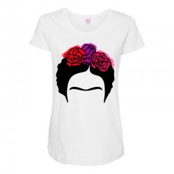 frida kahlo Maternity Scoop Neck T-shirt | Artistshot