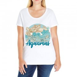 aquarius Ladies Curvy T-Shirt | Artistshot