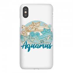 aquarius iPhoneX Case | Artistshot