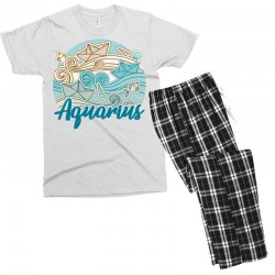 aquarius Men's T-shirt Pajama Set | Artistshot
