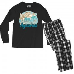 aquarius Men's Long Sleeve Pajama Set | Artistshot