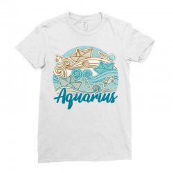 aquarius Ladies Fitted T-Shirt | Artistshot