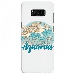 aquarius Samsung Galaxy S8 Case | Artistshot