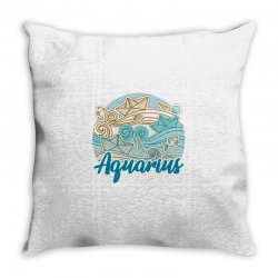 aquarius Throw Pillow | Artistshot