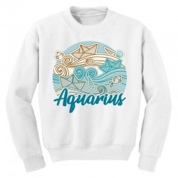 aquarius Youth Sweatshirt | Artistshot