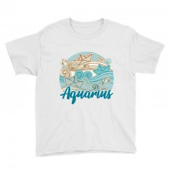 aquarius Youth Tee | Artistshot