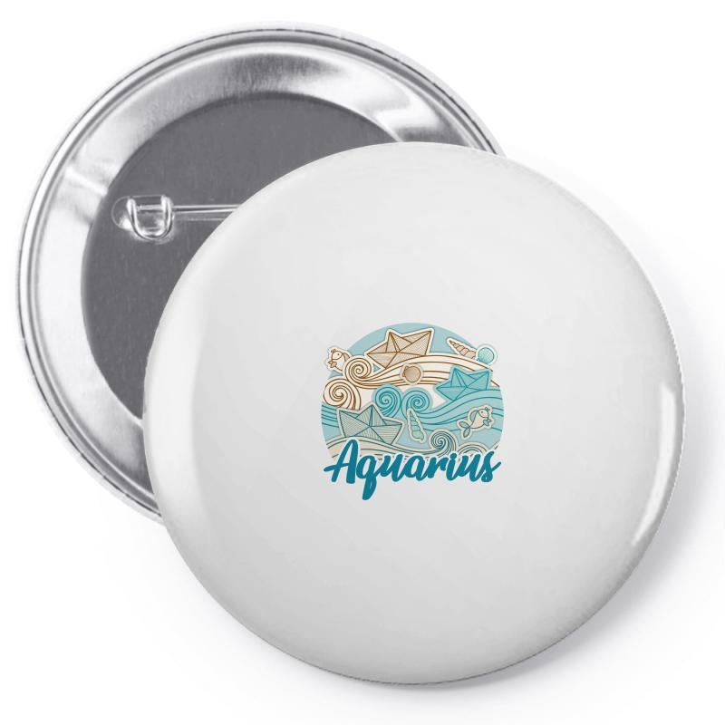 Aquarius Pin-back Button | Artistshot