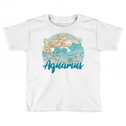 aquarius Toddler T-shirt | Artistshot