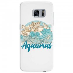 aquarius Samsung Galaxy S7 Edge Case | Artistshot