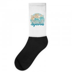 aquarius Socks | Artistshot