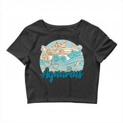 aquarius Crop Top | Artistshot