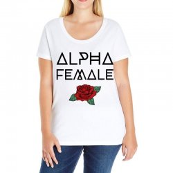 alpha female for light Ladies Curvy T-Shirt | Artistshot