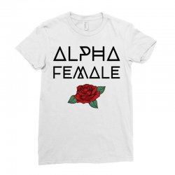 alpha female for light Ladies Fitted T-Shirt | Artistshot