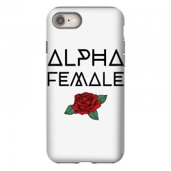 alpha female for light iPhone 8 Case | Artistshot