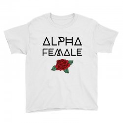 alpha female for light Youth Tee | Artistshot