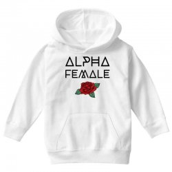 alpha female for light Youth Hoodie | Artistshot