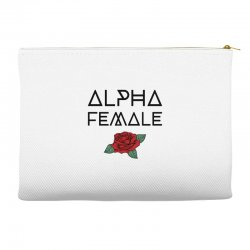 alpha female for light Accessory Pouches | Artistshot