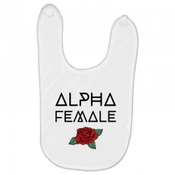 alpha female for light Baby Bibs | Artistshot