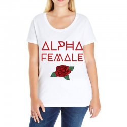 alpha female for dark Ladies Curvy T-Shirt | Artistshot