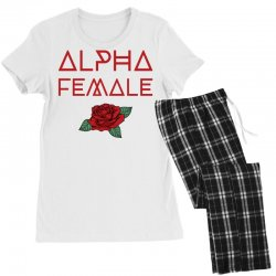 alpha female for dark Women's Pajamas Set | Artistshot