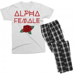 alpha female for dark Men's T-shirt Pajama Set | Artistshot