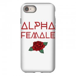 alpha female for dark iPhone 8 Case | Artistshot