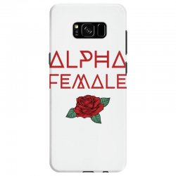 alpha female for dark Samsung Galaxy S8 Case | Artistshot