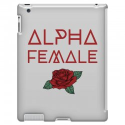 alpha female for dark iPad 3 and 4 Case | Artistshot