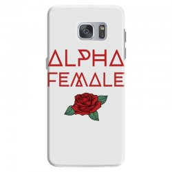 alpha female for dark Samsung Galaxy S7 Case | Artistshot
