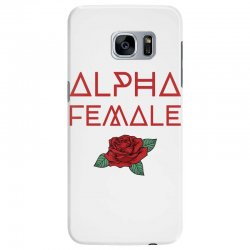 alpha female for dark Samsung Galaxy S7 Edge Case | Artistshot