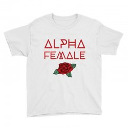alpha female for dark Youth Tee | Artistshot